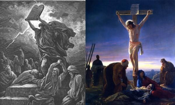 John 1:14-17 – Moses vs. Jesus, New Grace in place of Prior Grace